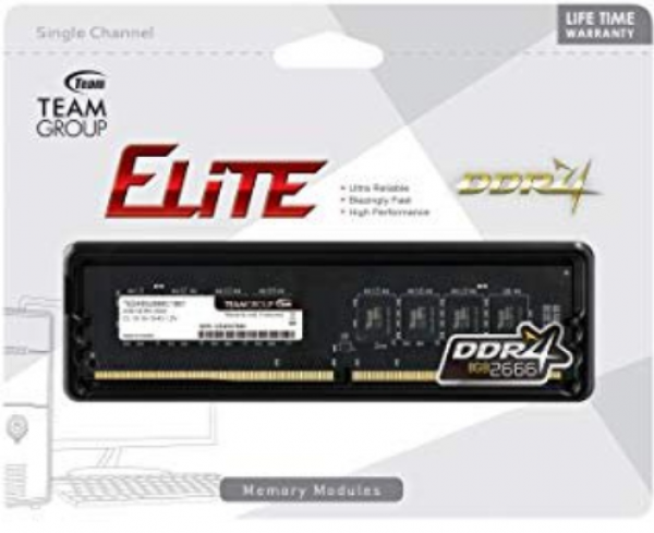 TeamGroup DDR4 TEAM ELITE UD-D4 16GB 2666MHZ 1,2V 19-19-19-43 TED416G2666C1901