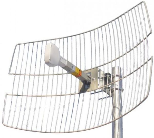 Antena Wireless 19DB, WGR24-19 WiFi usmerena, 2.4GHz, 640x440mm, 75om sa koaksijalnim kablom 15m