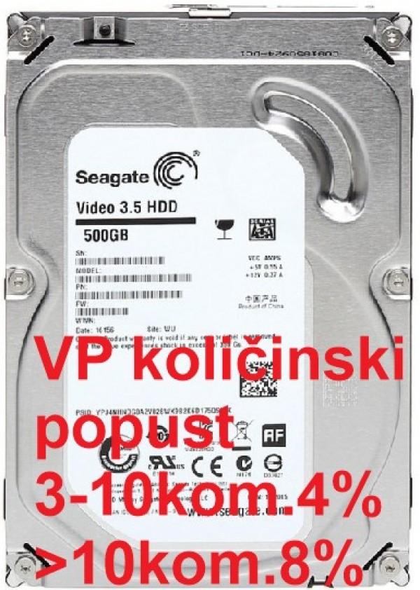 HDD 3.5'' ** 500GB ST500VM000 SEAGATE 5900RPM 64MB SLIM SATA3