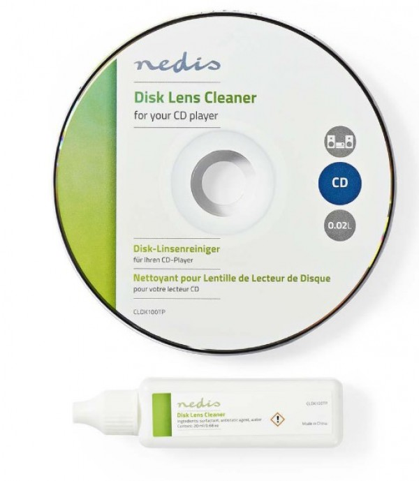 CLDK100TP Disk za ciscenje CD plejera 20ml