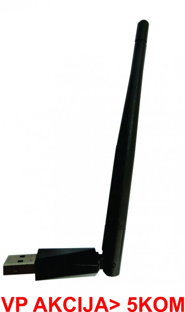 WNP-UA-005 **Gembird USB bezicni adapter 150N, 2dBi (399)