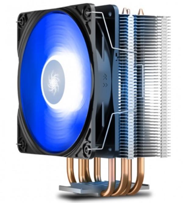 DeepCool GAMMAXX400 V2 Blue UNI kuler 180W 120mm.Fan 500~1650rpm 64CFM 28dBa LGA1156/775/FM/AM 4xpip