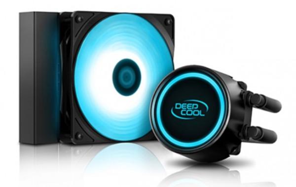 DeepCool GAMMAXX L120T BLUE vodeno hladjenje, Fan 500~1800rpm, LGA115xx/LGA1366/AMD AM4/AM3/FM2+