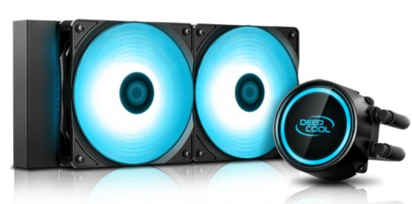 DeepCool GAMMAXX L240T BLUE vodeno hladjenje, Fans 500~1800rpm, LGA20xx/LGA1366/LGA115x/ AMD AM4/FM2