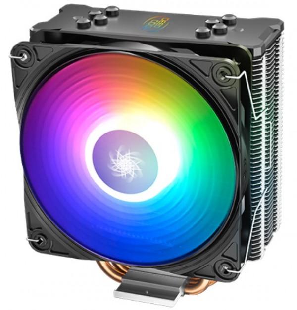 DeepCool GAMMAXX GT A-RGB UNI kuler 130W 120mm.Fan 500~1650rpm 64CFM 28dBa Intel/AMD 676g 4xpipes