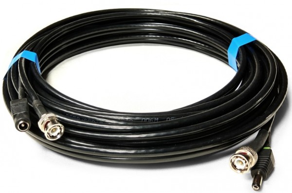 Kabl rg59+2x0.75 gotov kabl krimpovan CCA 15m