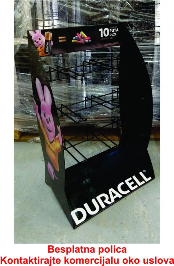 Duracell SOP 3x3 displej 33x56cm