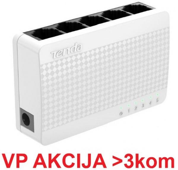 Tenda S105 ** LAN 5-Port 10/100 Switch auto-negotiation RJ45 ports (Alt  NP-SW5-02) 611