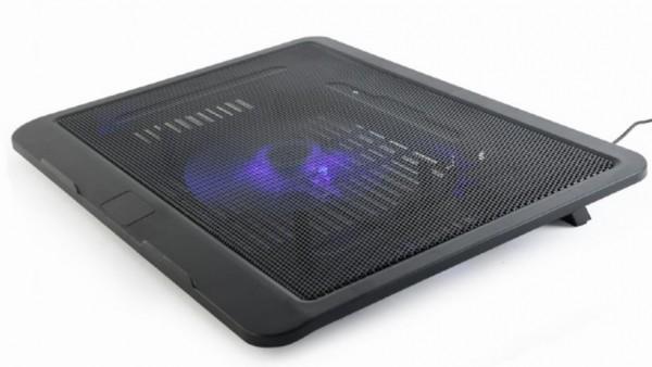NBS-1F15-04 Gembird hladnjak za laptop, 15.6'' 120mm Fan, USB, 330x250mm, Ergo Stand