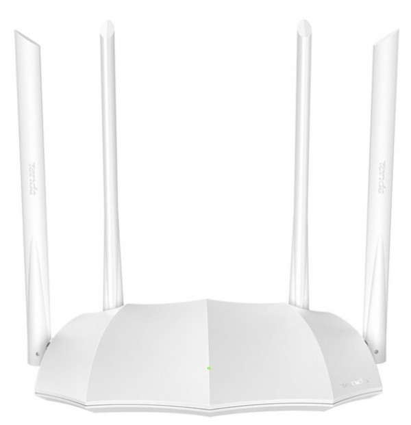 TENDA AC5 v3 white AC1200 wireless dual band ruter 2.4+5GHz, 1W/3L 10/100, 1Ghz cpu, 4x5dBi , 9v/1