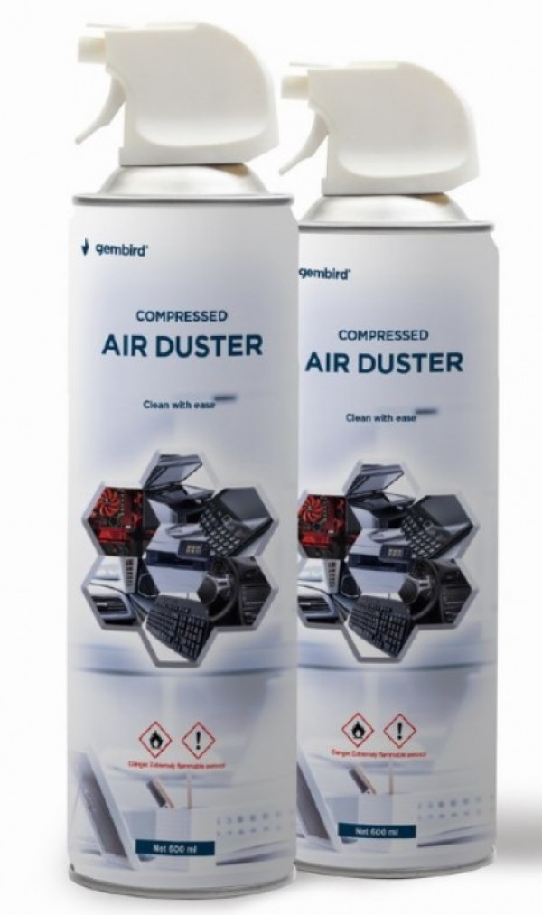 CK-CAD-FL600-01 Gembird Compressed air duster 600ml