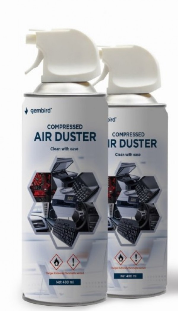 CK-CAD-FL400-01 Gembird Compressed air duster 400ml