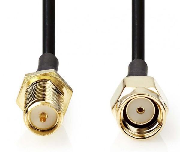 CSGP02210BK50 Kabl za WIFI antenu SMA musko/zeknski konektor 5m