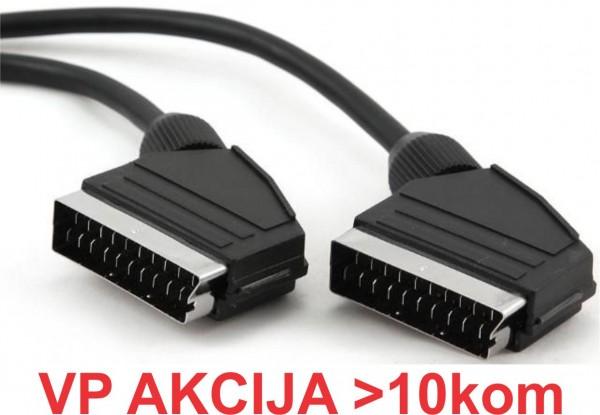 CCV-518 ** Gembird SCART plug to SCART 56kabl 1.5m (127)