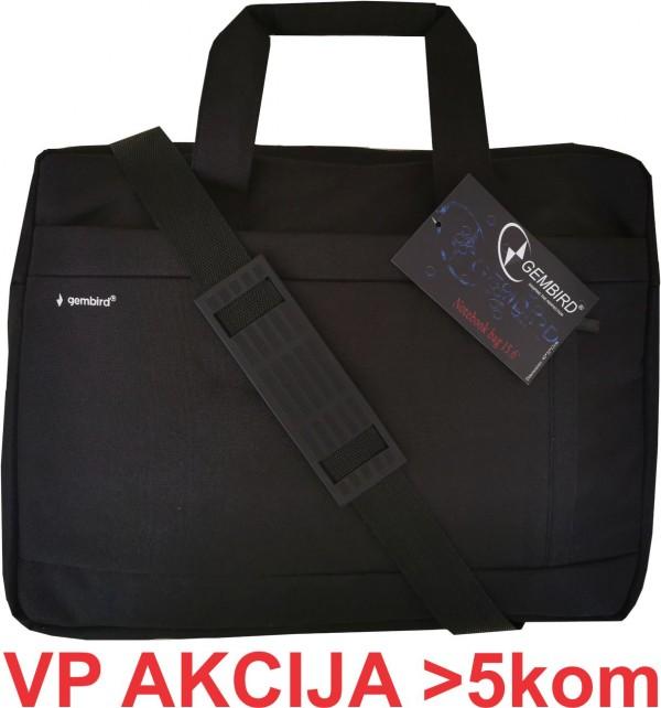 NCC-15-03 ** Gembird Notebook torba 15.6'' 43*31*10cm, sa duplom pregradom (621)