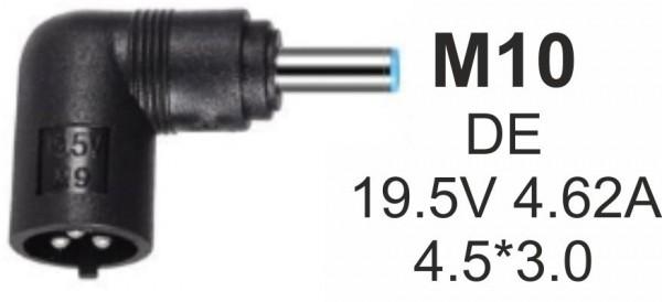 NPC-DE (M10) Gembird konektor za punjac 90W-19.5V-4.62A, 4.5x3.0mm PIN