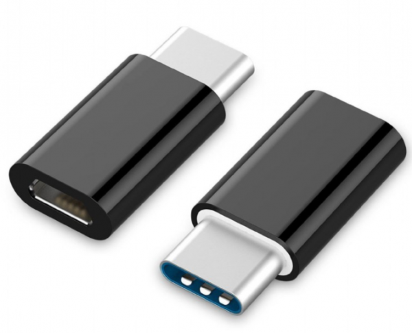 A-USB2-CMmF-01 Gembird USB 2.0 na Type-C adapter (CM/MicroUSB-F), black