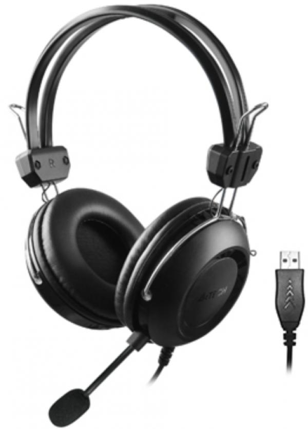 A4-HU-35 A4Tech gejmerske slusalice sa mikrofonom, 40mm/32ohm, USB
