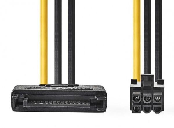CCGP74200VA015 Interni adapter za napajanje SATA - 6-pinski za PCI express video kartice 15cm