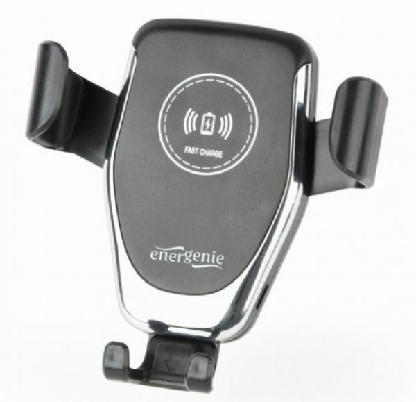 EG-TA-CHAV-QI10-01 Gembird univerzalni auto drzac za telefone sa bezicnim punjenjem-wireless QI 10W