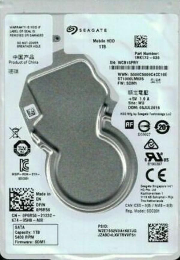 HDD 2.5'' * 1TB ST1000VT001 SEAGATE 5400RPM 128MB SATA3 (3999)