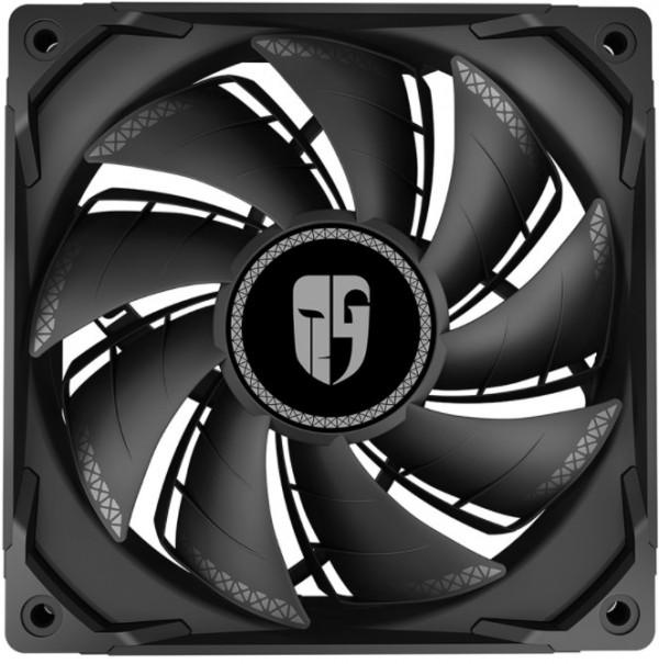 DeepCool TF120S BLACK 120x120x25 ventilator Hydro Bearing 400-1800rpm 37CFM 26DB