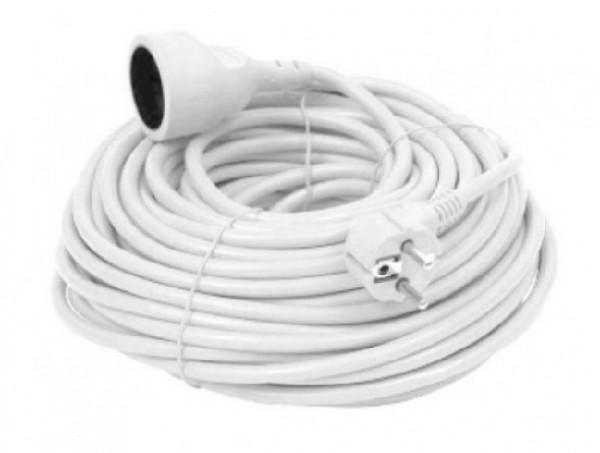 SPG1-B-20 (3G1.5) ** Gembird Produzni kabl 1 uticnica (3x1.5mm) beli 20m