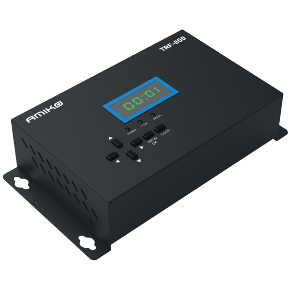 Modulator TRF-800 HDMI na DVB-T RF modulator, LED ekran