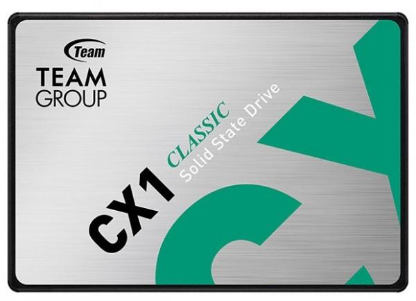 TeamGroup 2.5'' 240GB SSD SATA3 CX1 7mm 520/430 MB/s T253X5240G0C101