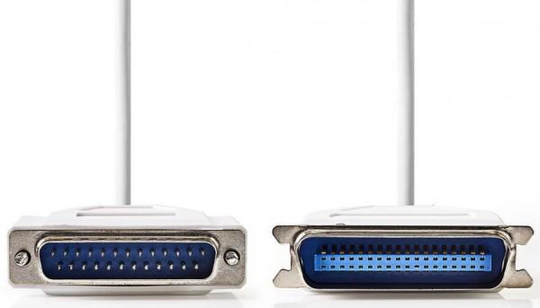 CCGP52200IV20 kabl za stampac D-Sub 25-pin Male - Centronics 36-pin Male, 2m