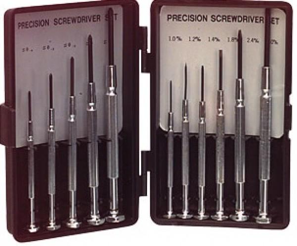 RND 550-00202 Screwdriver Set 6x Flat / 5x Phillips Precision