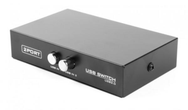 DSU-21 Gembird 2 port manual USB switch