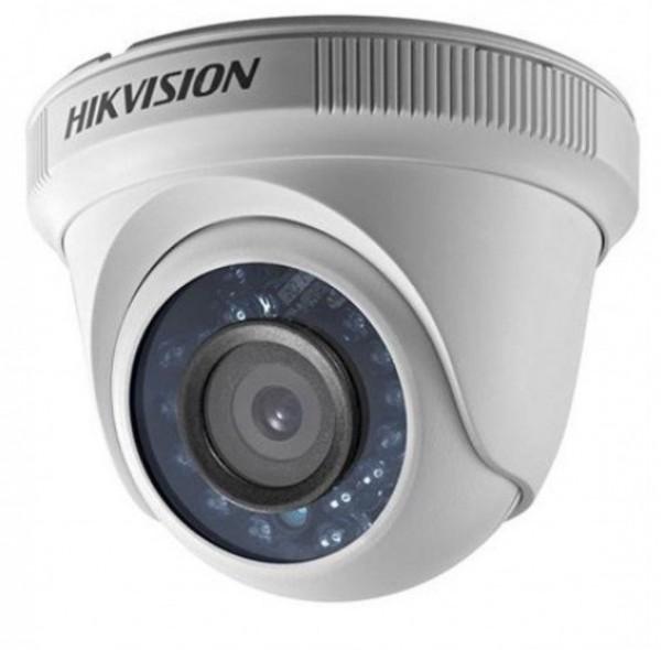KAMERA Hikvision DS-2CE56C0T-IRPF 2.8mm 1Mpix 20m 4u1(TVI,CVI,AHD,CVBS) dan/noc, ICR filter
