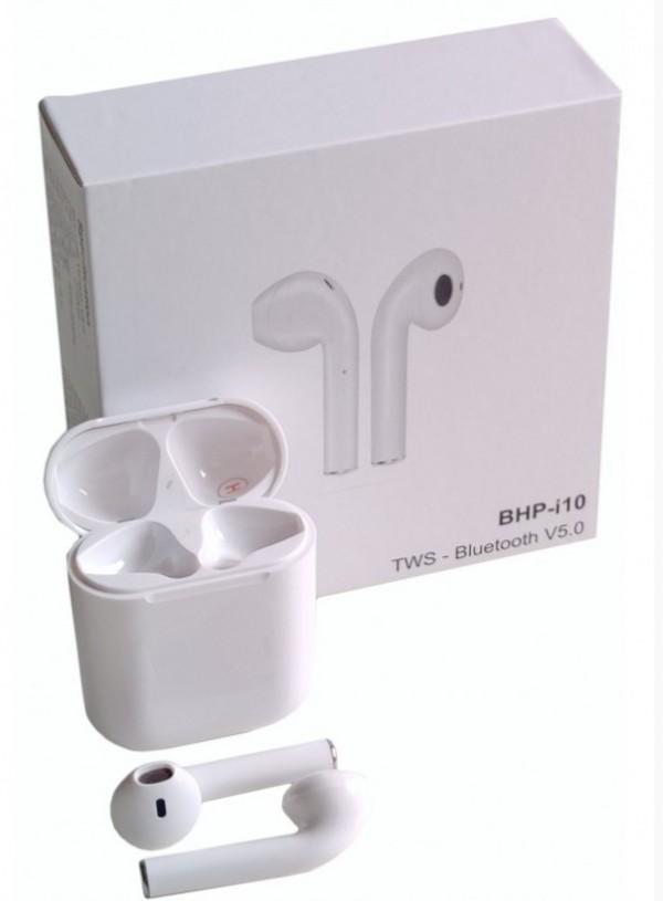 BHP-i10 * Gembird bluetooth V5.0 slusalice TWS, auto pairing,16ohm, sirl voice assist, touch(1699)