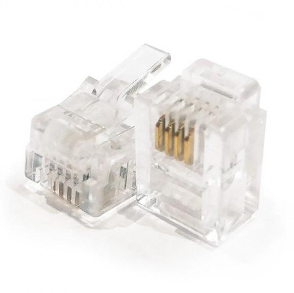 con-konektor RJ11 za telefon pakovanje 10 komada cena za komad