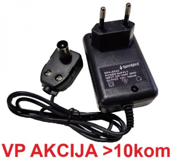 NPA-AC42 ** Gembird punjac 12v/0.2A za pojacalo antene (149)