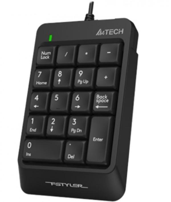A4-FK13P A4Tech Fstyler Numericka tastatura USB, Black
