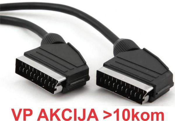 CCV-518A ** Gembird SCART plug to SCART 56kabl 1.5m (119)