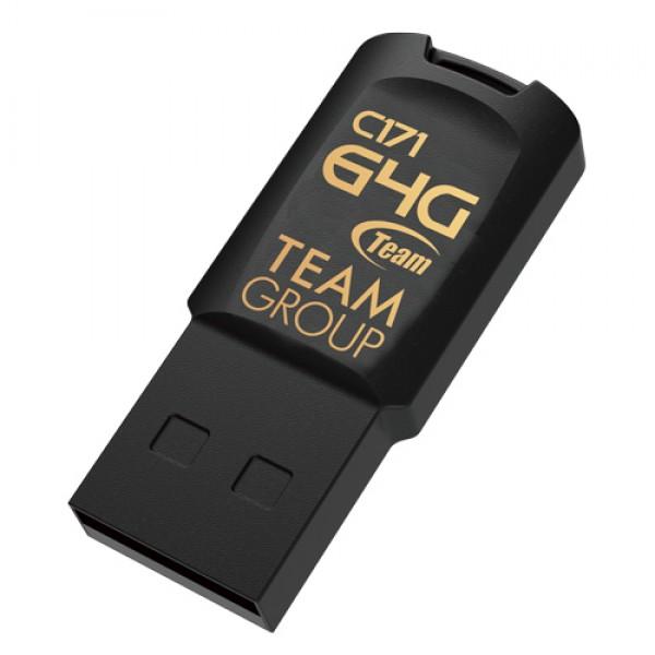 TeamGroup 64GB C171 USB 2.0 BLACK TC17164GB01
