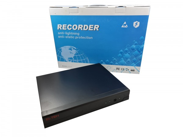 DVR Elteh * EL-358041, 4 kanala IP H.265 3GP server 4k 8mpix (4500)