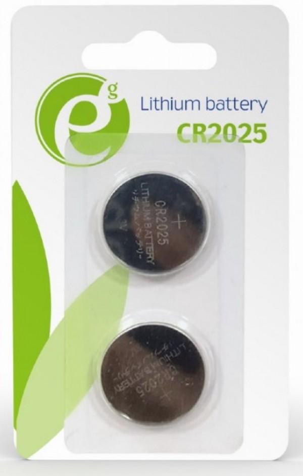 EG-BA-CR2025-01 ENERGENIE CR2025 Lithium button cell 3V PAK2
