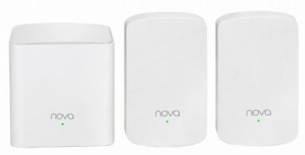 Tenda MW5 (3 pack) dual band 2.4+5GHz distribution mesh WiFi system 300m2
