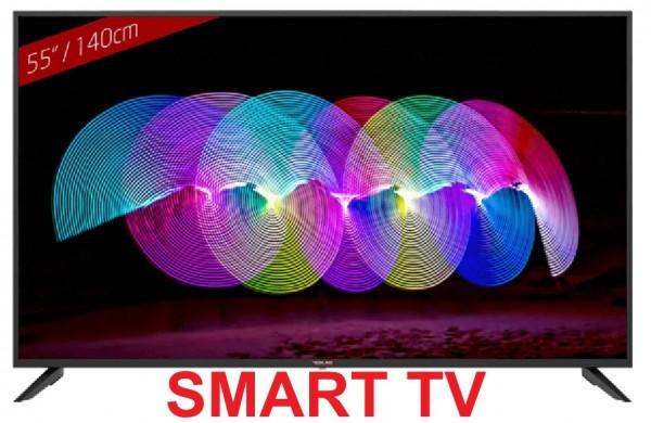 TV Redline LED PS55 55'' Android OS, DVB-T/T2/C/S/S2, H.265, 3840 x 2160, USB