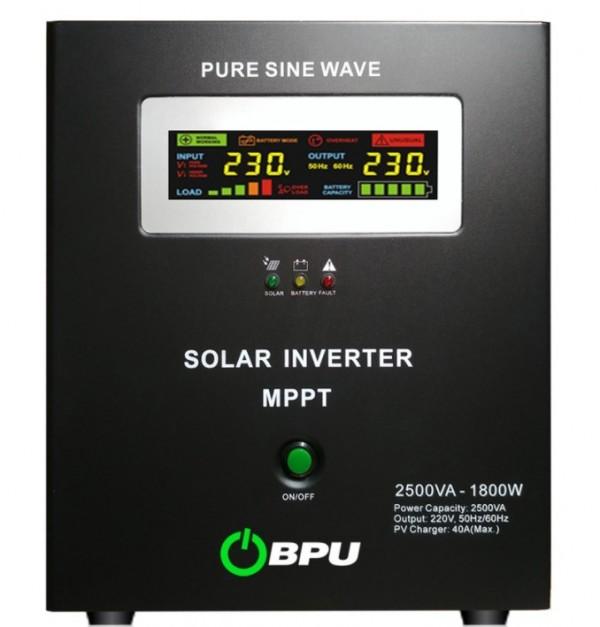 UPS BPU Long 2500VA-1800W, 24V-220V MPPT