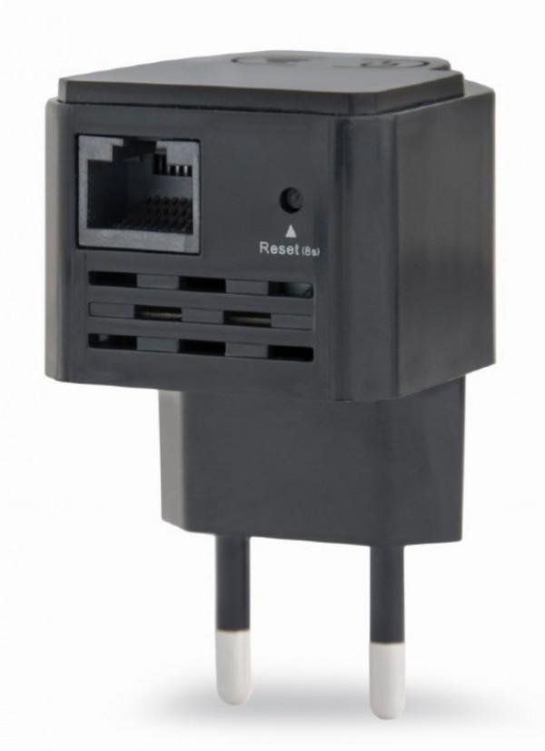 WNP-RP300-03-BK Gembird WiFi ripiter/ruter 300Mbps, 2x3dBi, RF pwr