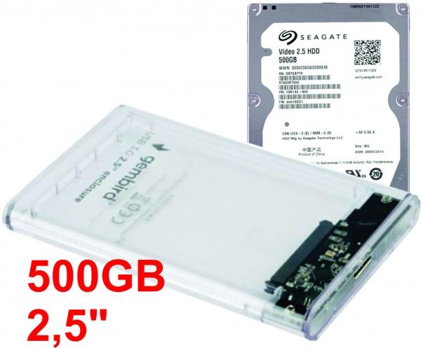 HDD 2.5'' + USB 3.0 SATA eksterno kuciste * 500GB ST500VT000 SEAGATE (2490)