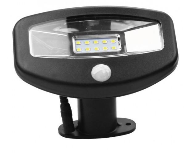 Solarni LED reflektor sa PIR senzorom 1W LRFS-15S010-W/BK