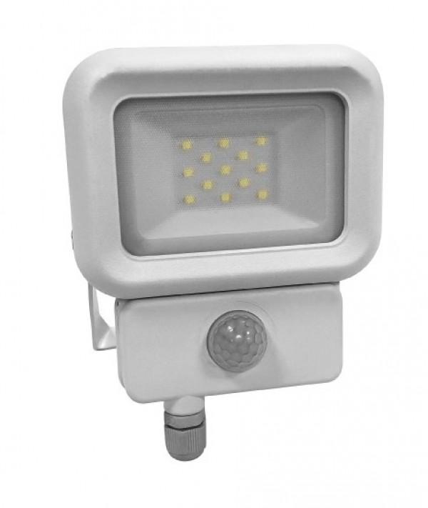 LED reflektor sa PIR senzorom 10W 6500K LRF019ESW-10/WH