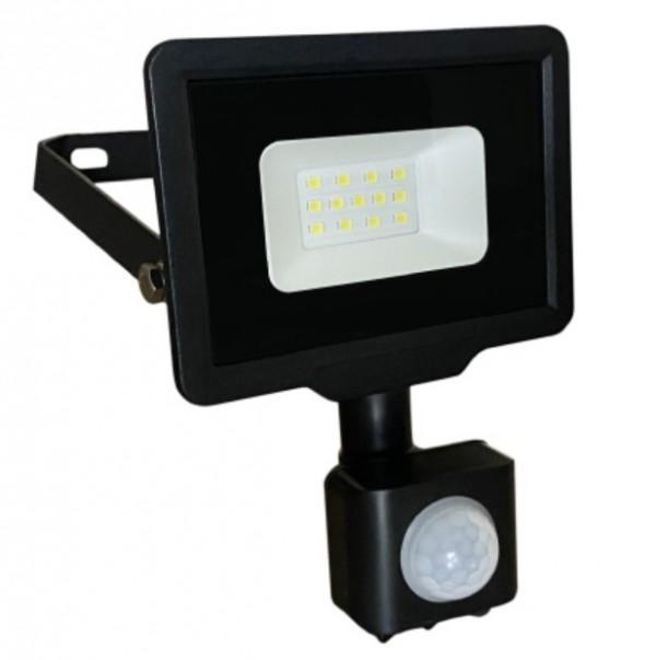 LED reflektor sa PIR senzorom 10W 6500K LRF008SW-10/BK
