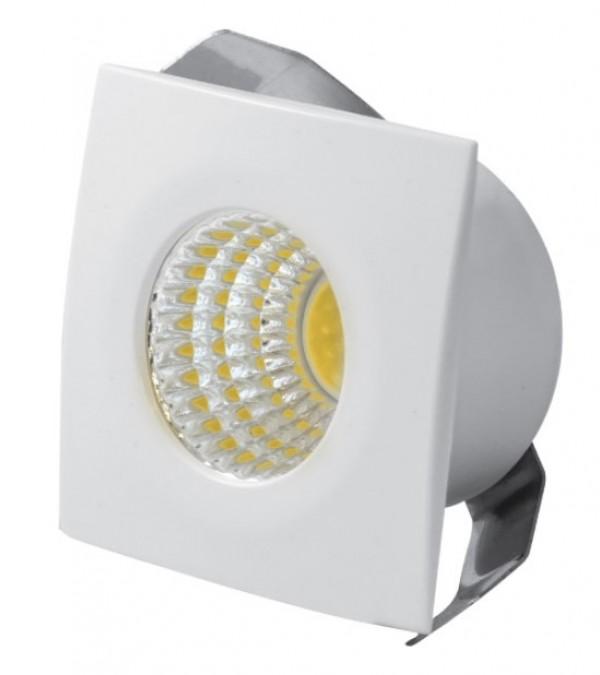 LED Ugradna lampa 3W 3200K toplo bela LUG-013-3/WW